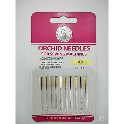 Иглы для бытовых швейных машин  №90  ORCHID NEEDLES  цена за упаковку из 10 штук