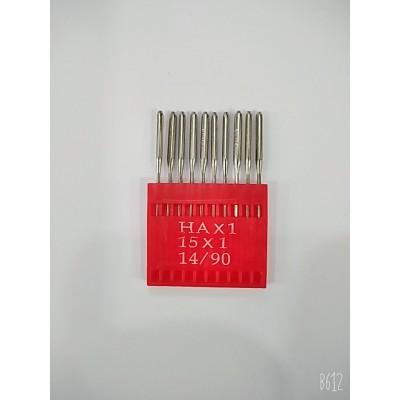Иглы для бытовых швейных машин  HA×1  14/90  цена за упаковку из 10 штук