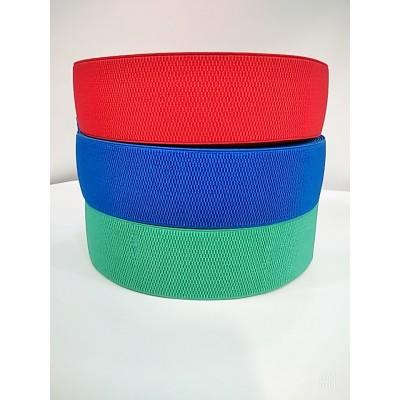 Резинка декоративная, ширина 6см, в бобине 25метров, цена за бобину, цвета разные