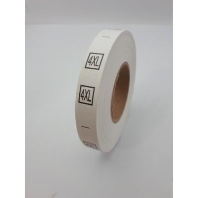 R-614 Размерник пришивной 4XL 600шт. (СИНДТЕКС-0176)