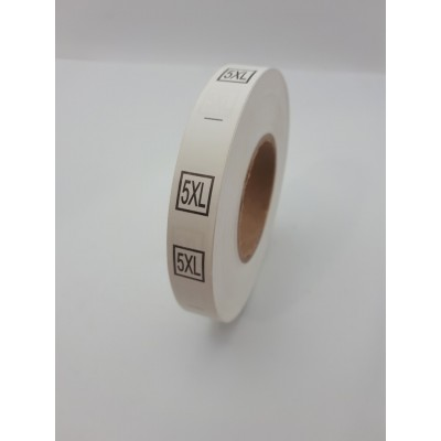 R-616 Размерник пришивной 5XL 600шт. (СИНДТЕКС-0178)