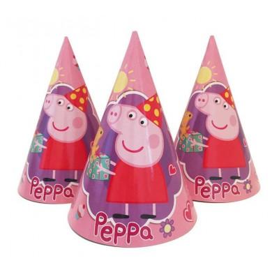 """Колпачки праздничные, маленькие. """" Свинка Пеппа """""""