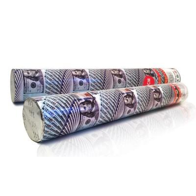 Хлопушки пневматические с сувенирными долларами 40 см