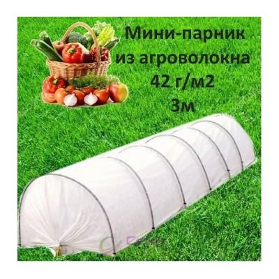 ПАРНИК (МИНИ-ТЕПЛИЦА) ПРОЛІСОК 42 Г/М² , ДЛИНА 3 М
