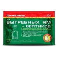 Средство Доктор Робик для выгребных ям и септиков 75 гр
