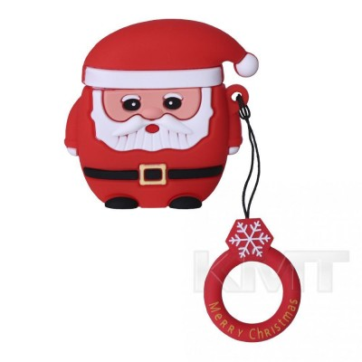 New Year Airpods Case — Santa