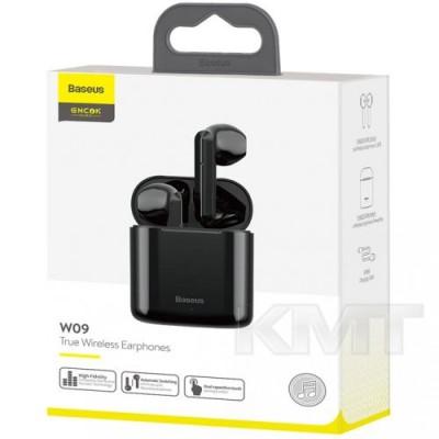 Baseus (NGW09) Encok True Wireless Earphones W09 — Black
