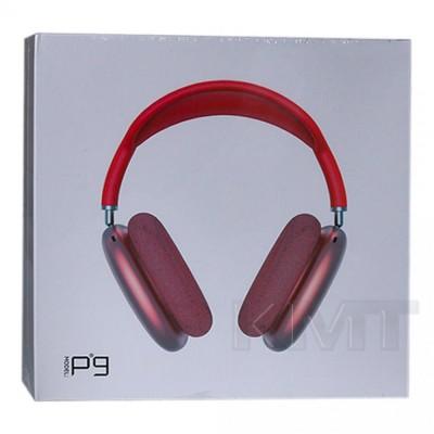 Наушники Bluetooth P9 — Red