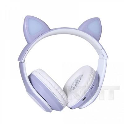 Наушники Bluetooth TUCCI CT930 LED   — Purple