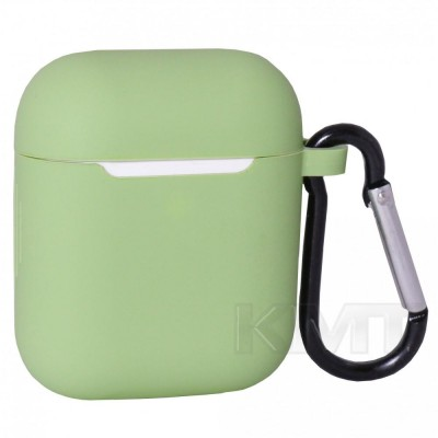 Case For AirPods With Hook — Mint (1)