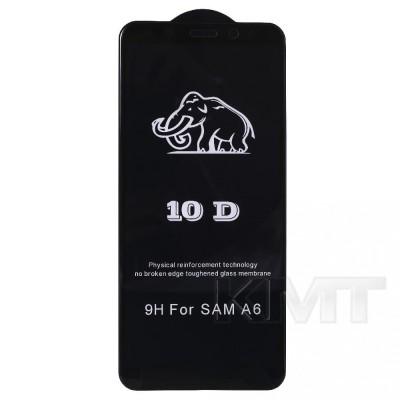 Защитное стекло 10D Samsung A6 2018(A600F) (Black)