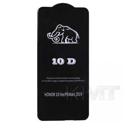 Защитное стекло 10D Huawei P Smart 2019 ; Honor 10 Lite (Black)
