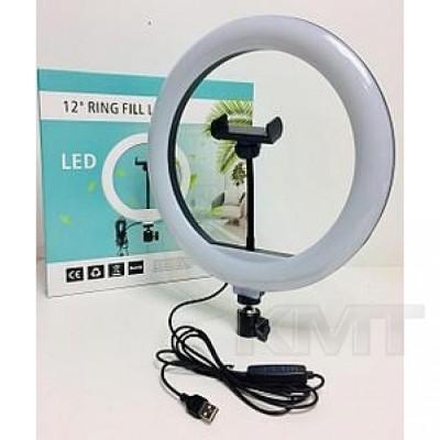 Лампа кольцевая LED 30 см  CXB-300