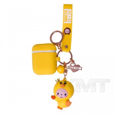Airpods Case — Emoji Mokyo with toy  — Chiken