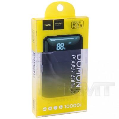 Hoco B29 Domon Power Bank — 10000 mAh  — Black