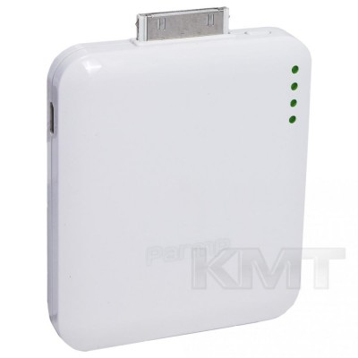 Parmp SIMP-11B Power Bank —1500 mAh — White