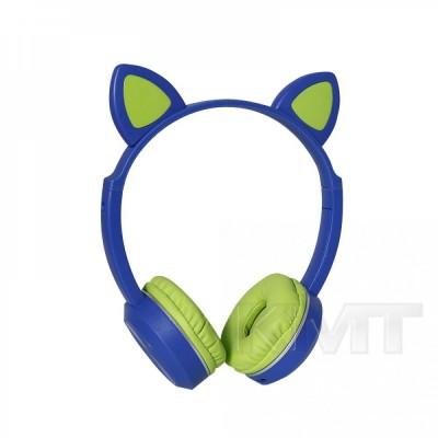 Наушники Bluetooth TUCCI K24 LED   — Green