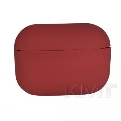 Airpods Pro Case (Simple) — Crimson