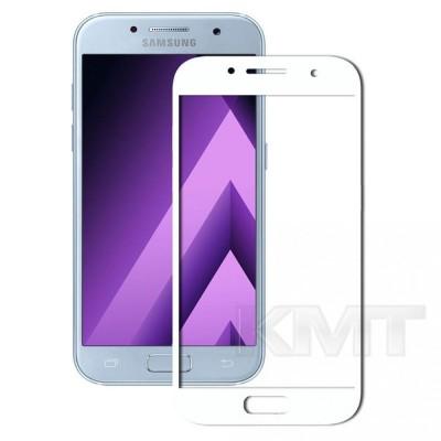 Защитное стекло Silk Printing Curved 3D Samsung A5 2017(A520) (White)