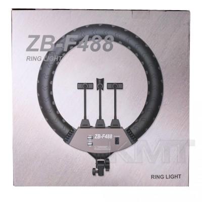 Лампа кольцевая LED 55 см