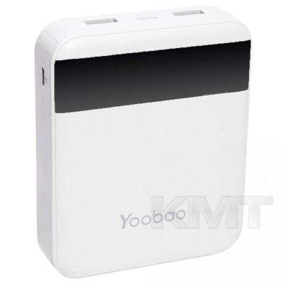 Yoobao M4 Pro Power Bank — 10000 mAh — White