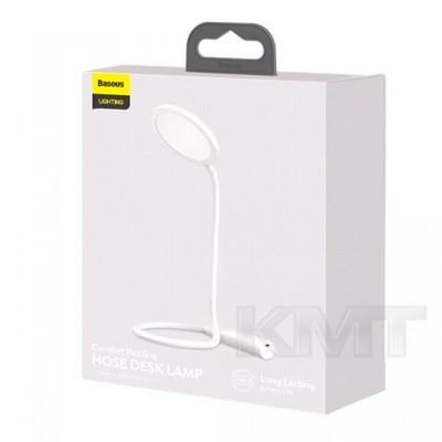 Baseus (DGYR-02) Comfort Reading Charging Uniform Light Hose Desk Lamp White