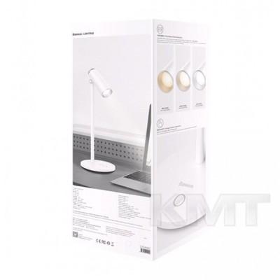 Baseus (DGIWK-A02)  i-wok Series Charging Office Reading Desk Lamp (Spotlight)White