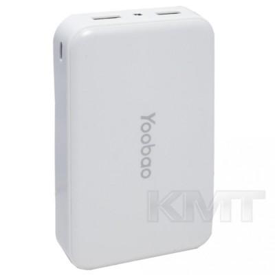 Yoobao M5 Power Bank — 10000 mAh — White