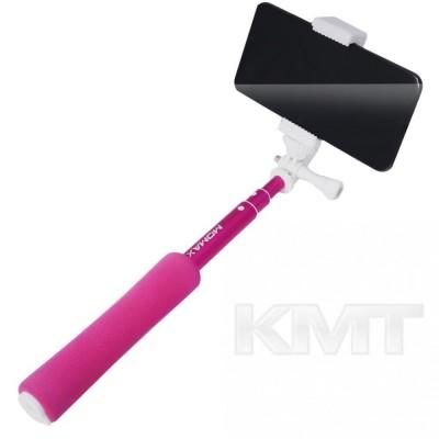 Монопод MomaxMini(KMS2)WirelessSelfieStick(0.5m)  — Pink