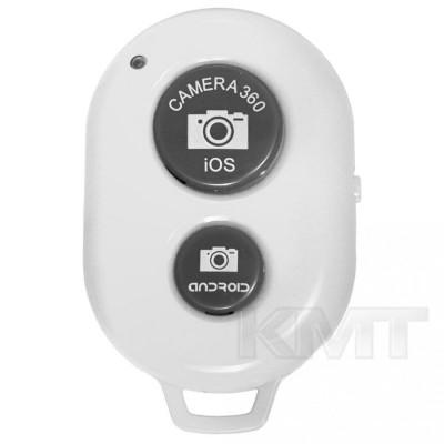 Wireless Remote Control For Selfie Stick — White