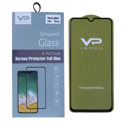 Защитное стекло Veron Slim Full Cover Huawei P Smart S ; Y8p (Black)