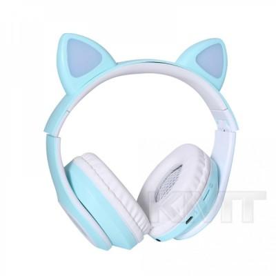Наушники Bluetooth TUCCI CT930 LED   — Blue