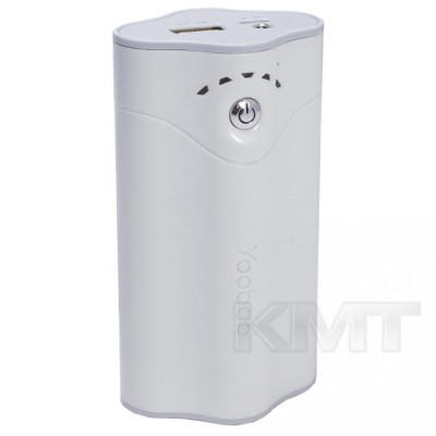 Yoobao YB641 Pro Sunshine Power Bank — 10400 mAh White