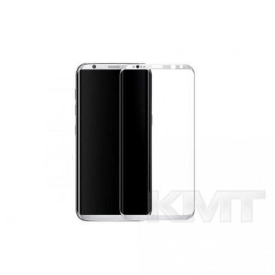 Защитное стекло Silk Printing Curved 3D Samsung S8 Plus(G955) (White)