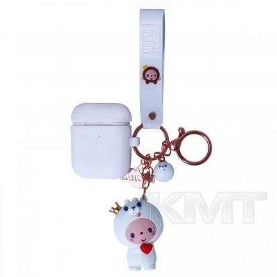 Airpods Case — Emoji Mokyo with toy  — Dog