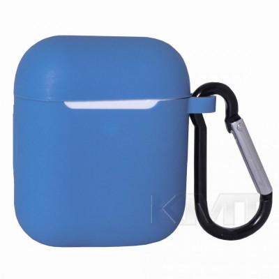 Case For AirPods With Hook — Royal Blue (3)