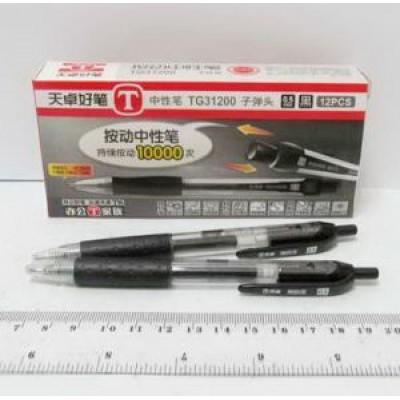 0.5 Ручка гелевая автомат. black TG31200