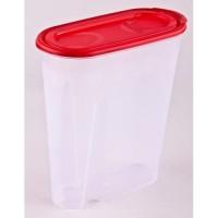 Ёмкость для сыпучих продуктов «ПОЛИМЕРАГРО» (1,8 л, 19,5х9,5х22 см, пластик, Украина)