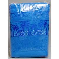 Полотенце «Пальма» для лица 50х90, махра, цвета в ассортименте