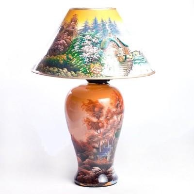 Лампа настольная электрическая № 138, h=45 см