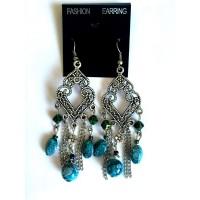 Серьги бирюза Fashion Earring 2