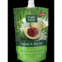 FJ Крем-гель для душа Avocado&Rice milk ДОЙ-ПАК 170мл