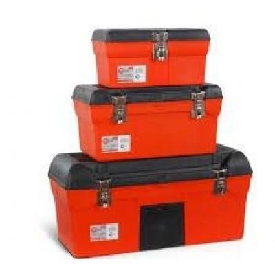 Комплект ящиков для инструментов с металлическим замком Intertool BX-0006 - 3шт