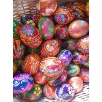 Яйцо декоративное (материал дерево, диаметр 5 см, Украина)