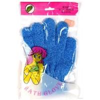Мочалка-перчатка антицеллюлитная 20 см, пр-во Китай