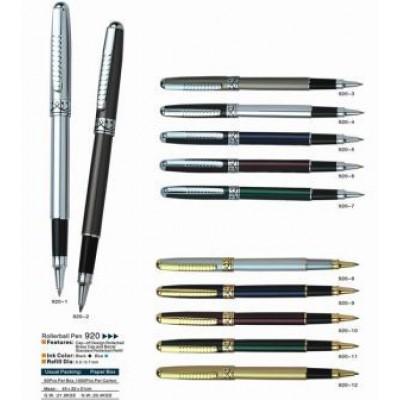 Ручка капил  мет BAIXIN RP 920 ( син. с зол. / бел. с зол. )