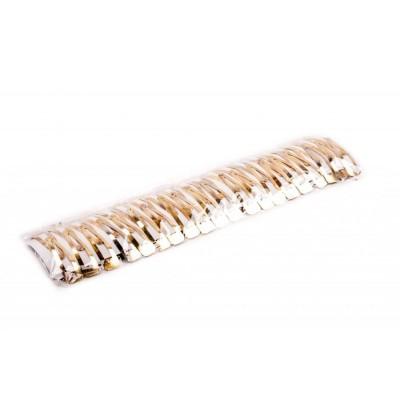 Заколка для волос «Тик-так» (материал металл, в упаковке 40 шт., длина 6,5 см, цвет золотистый)
