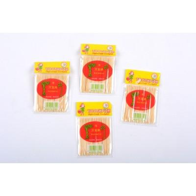 Зубочистка (пакет: 20 упаковок; материал: бамбук), Китай