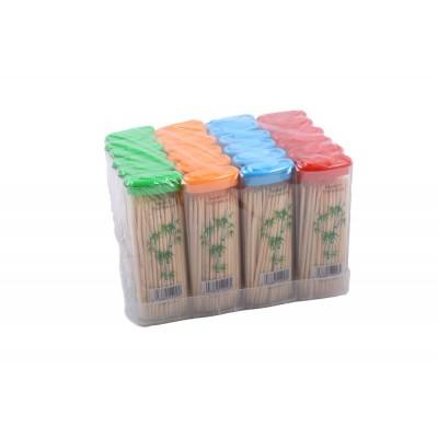 """Зубочистка, пластиковая упаковка """"Зажигалка"""" (материал: бамбук), Китай"""