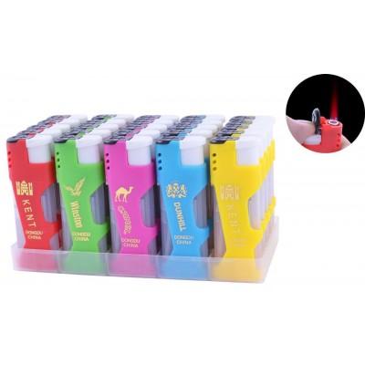 Зажигалка пластиковая Сигареты (Турбо пламя) №818-24